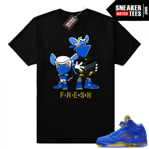 9e7cd0f8b00 Jordan 5 shirts to match the Cement 5s, Red Suede 5s, Blue Suede 5s