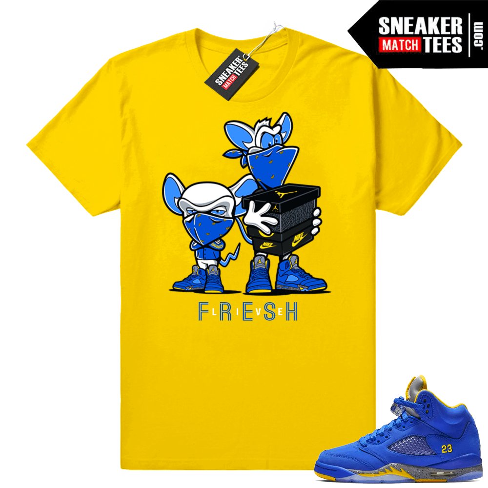 42e838666e0753 Jordan 5 Laney sneaker shirts