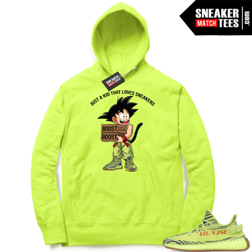 Just A Kid that Love Sneakers Yeezy Hoodie