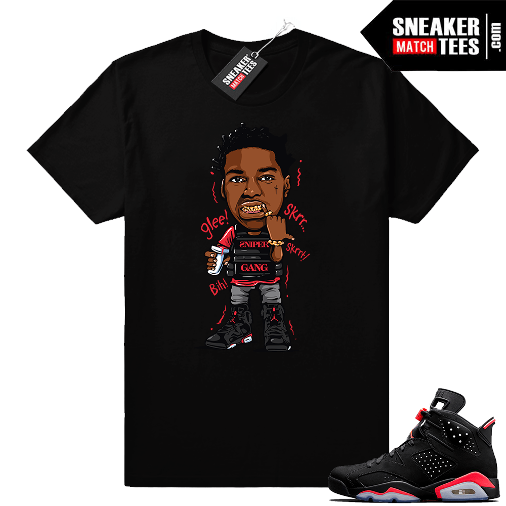 063ce117d91 Infrared 6s Sneaker tees to match Jordan Retro 6 shoes