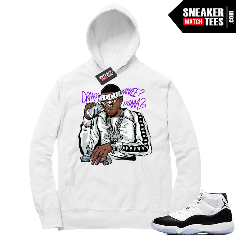 79522f68624 Jordan 11 Concord shirts match sneakers   Jordan Sneaker Clothing Shop
