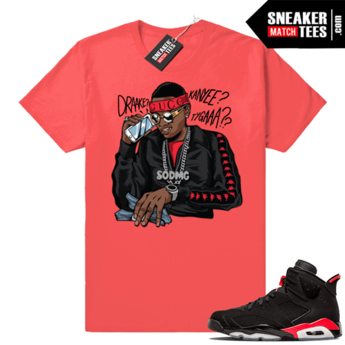 Soulja Boy shirt Infrared 6s