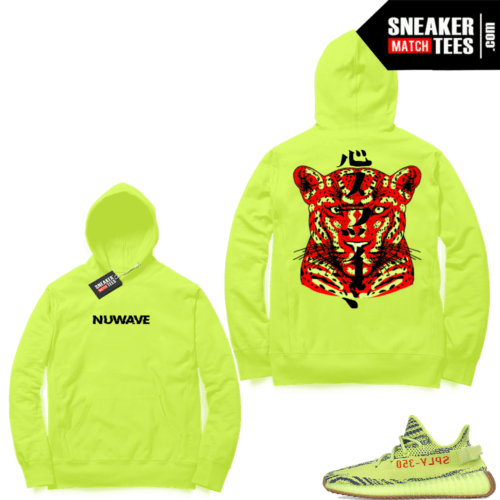 Yeezy Frozen yellow match hoodies