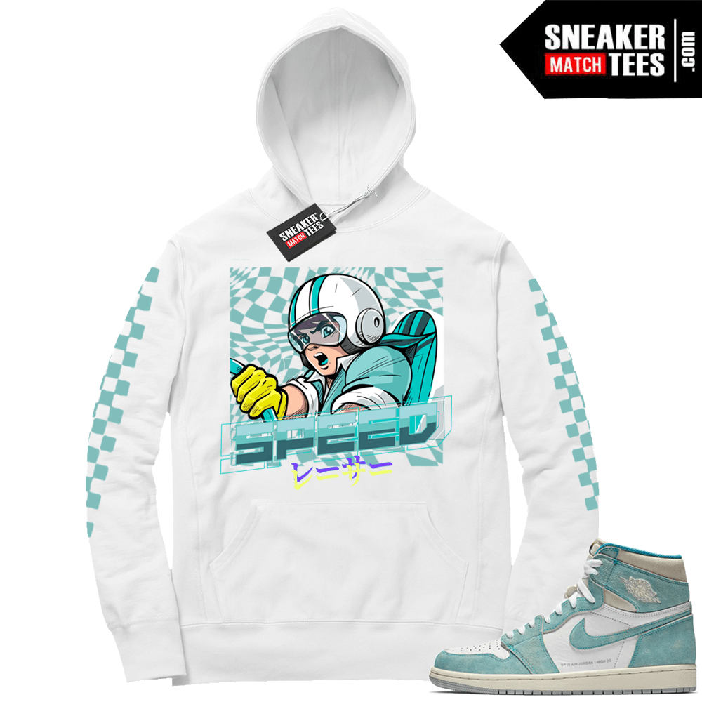 27ccc75b2a9 Air Jordan 1 Turbo Green Hoodie