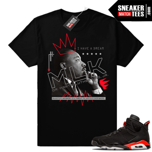 Air Jordan 6 tees infrared