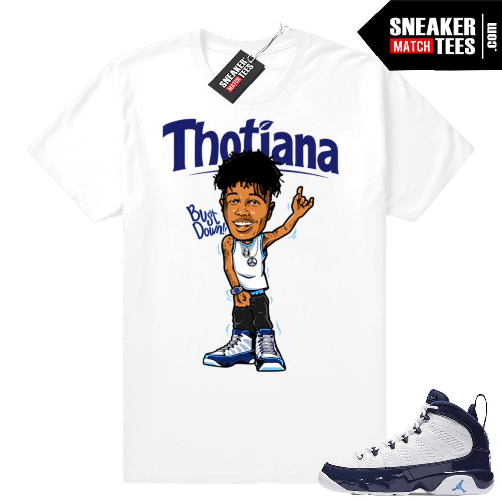 5277eb9a93f Blue Face Thotiana shirt match | Jordan Sneaker Clothing