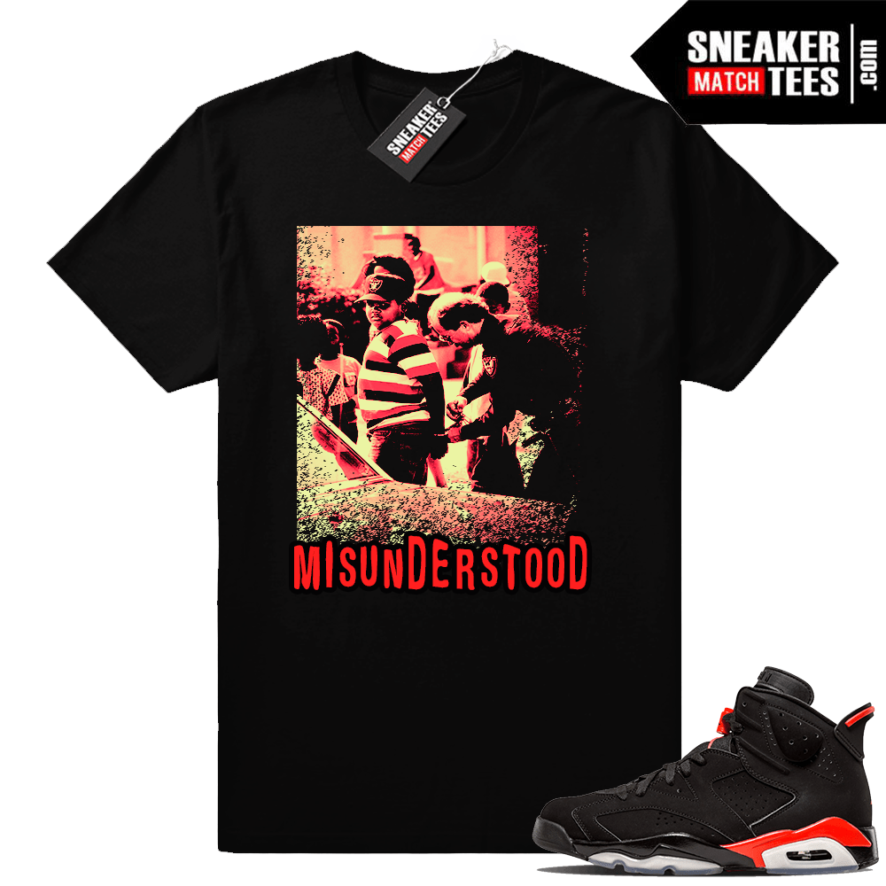 Infrared 6s boys in the hood tee