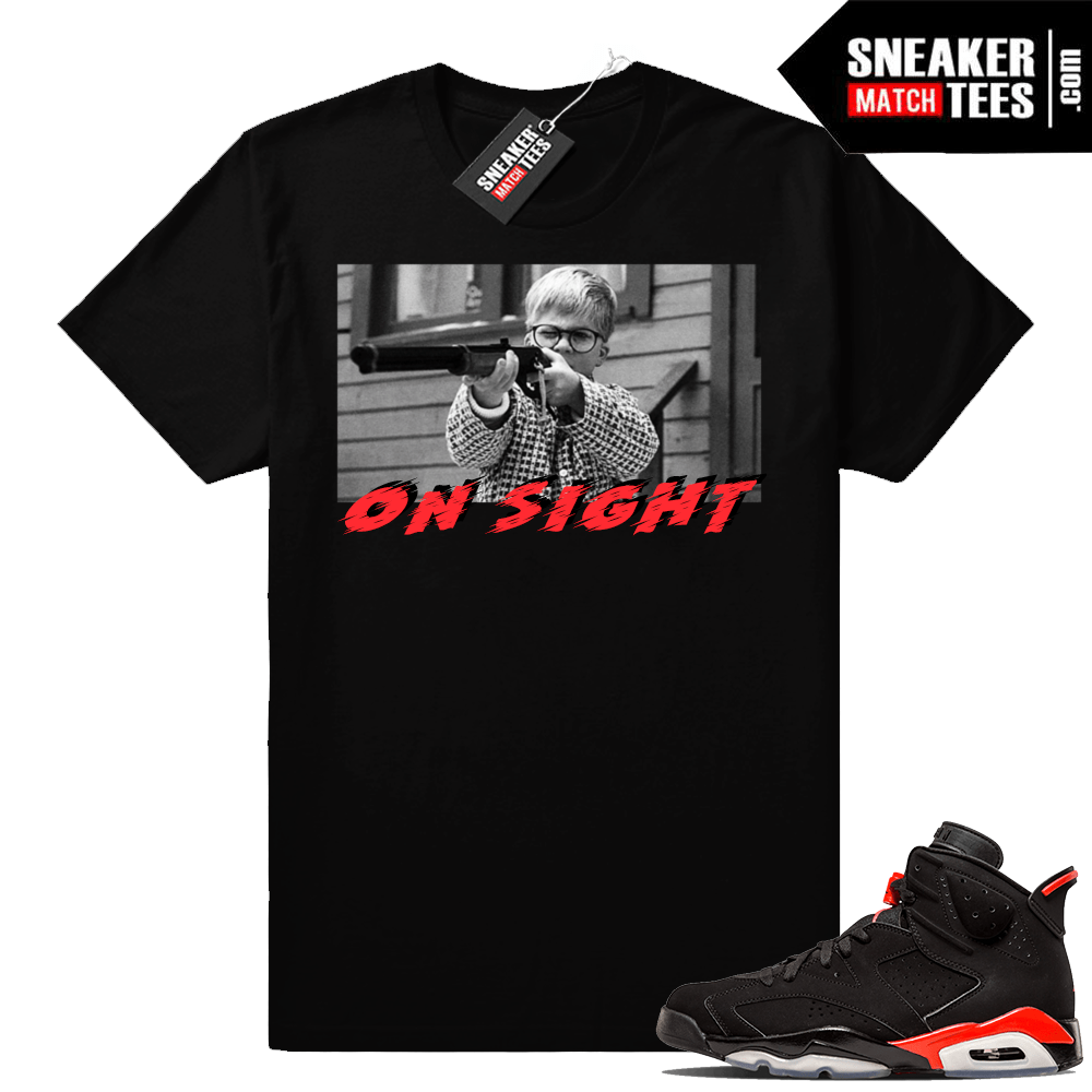 3a3afb039963 Infrared 6s Sneaker tees to match Jordan Retro 6 shoes