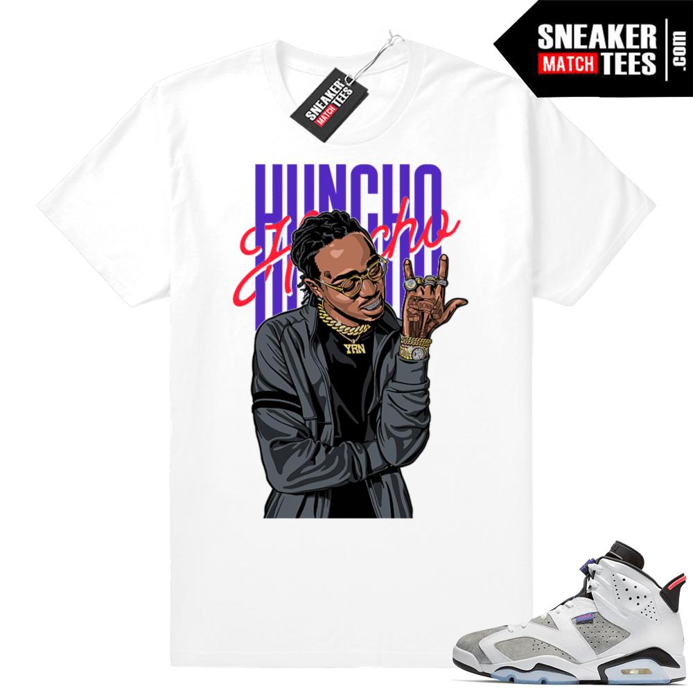 b72a7a432720 Jordan 6 sneaker tees Flint Grey