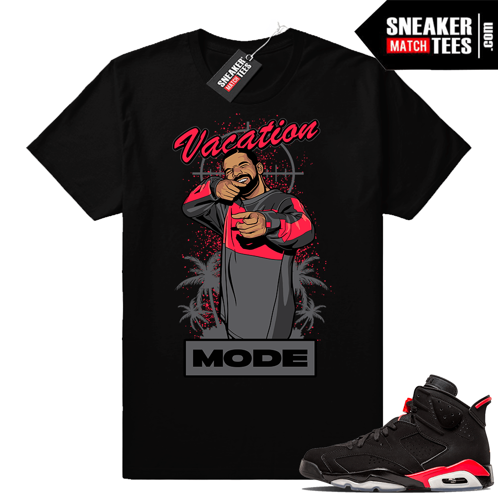 Shirts to match Black Infrared 6s