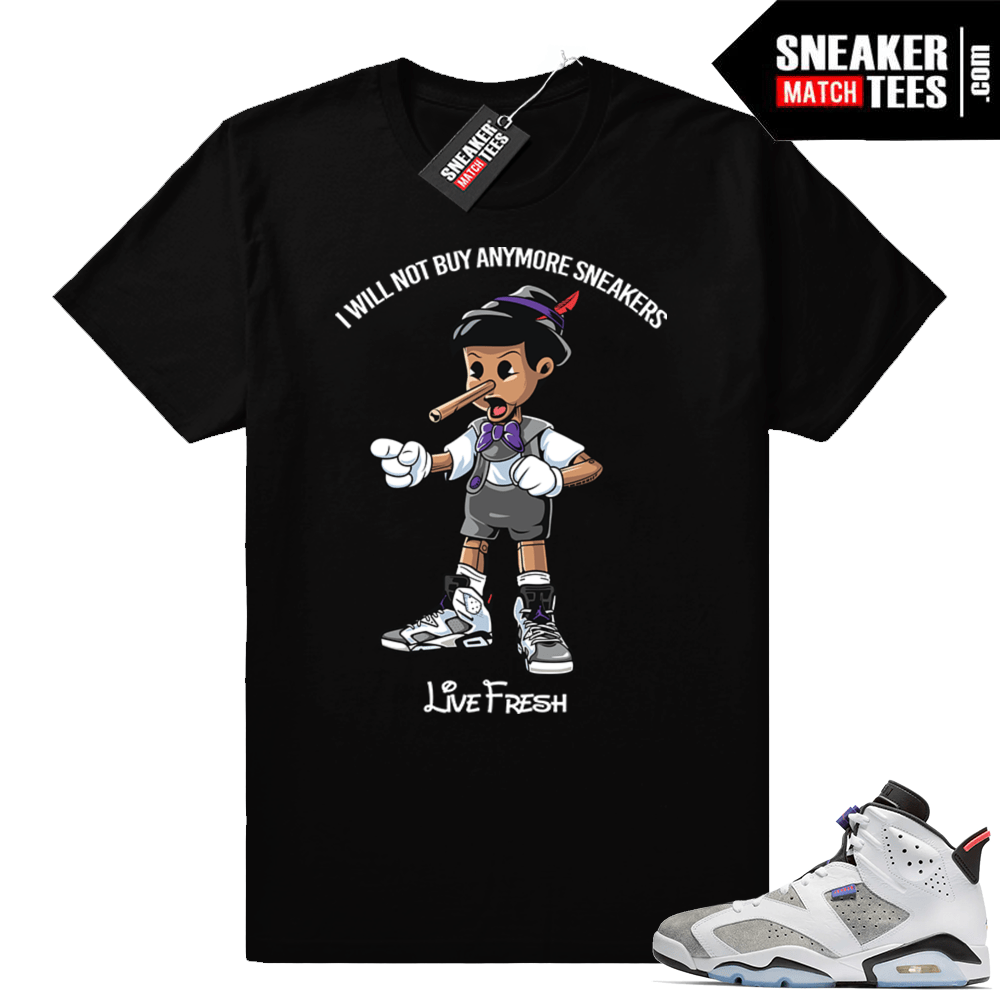 fa5204ccb9c6 Sneaker head Pinocchio Flint 6s shirt
