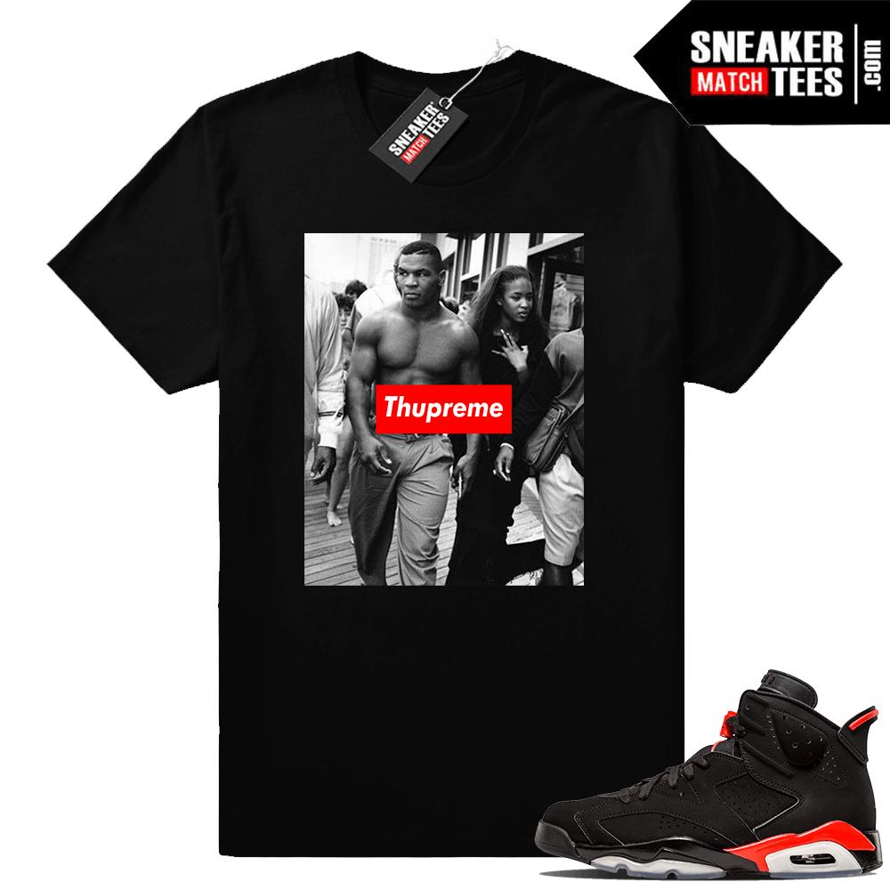 6304b2ac1215d4 Infrared 6s Sneaker tees to match Jordan Retro 6 shoes