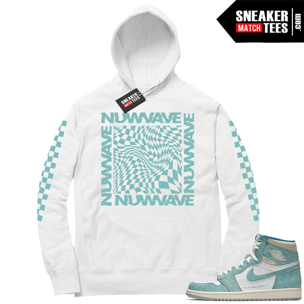 bff4e50a062 Turbo Green 1s Nuwave Checkered Hoodie | Jordan shirts