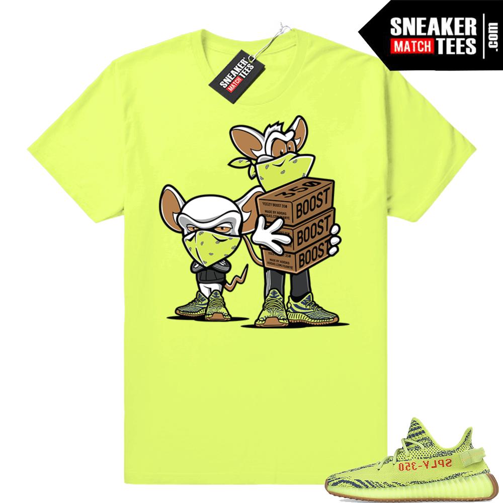 b3da67e74e1 Yeezy Boost 350 V2 Frozen yellow sneaker shirt