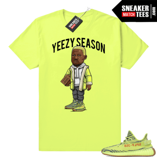 Yeezy Season shirt Frozen yellow