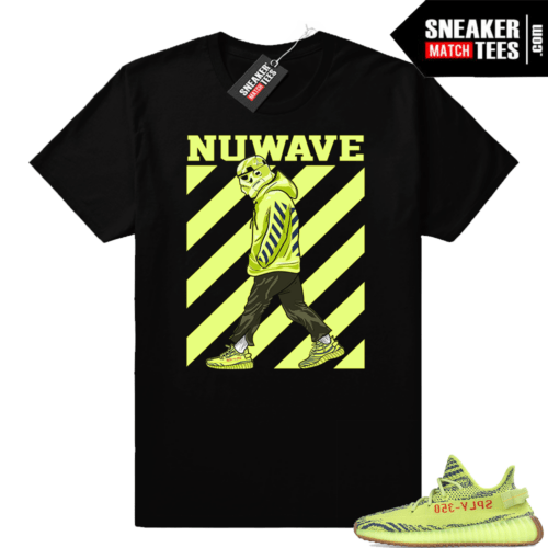 Yeezy sneaker tees Frozen yellow