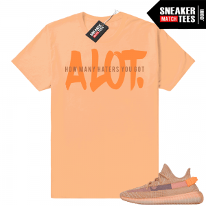 various colors 2973d dbc13 Clay Yeezy Sneaker tee shirt