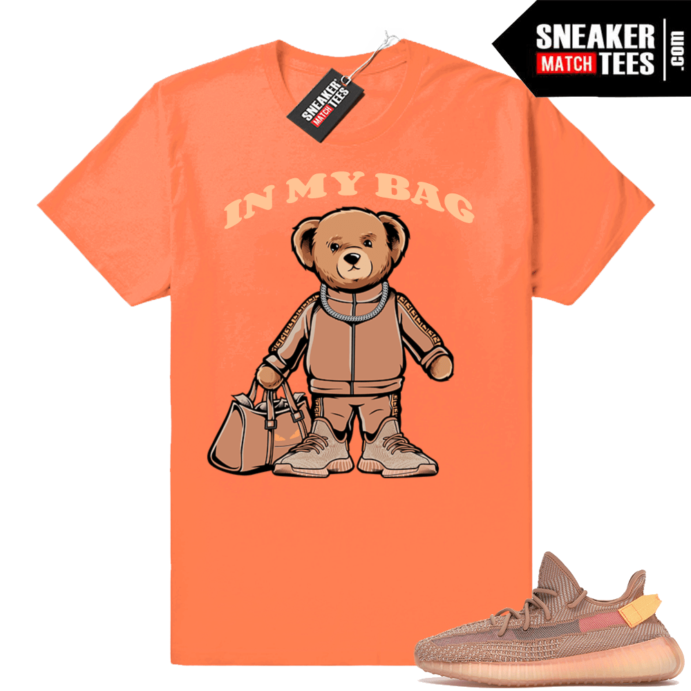 2ce300a1061 Clay Yeezy boost 350 matching tees