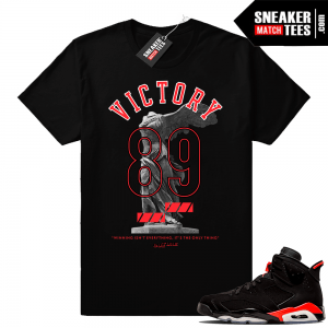 Jordan 6s infrared shirts match 996ff29935