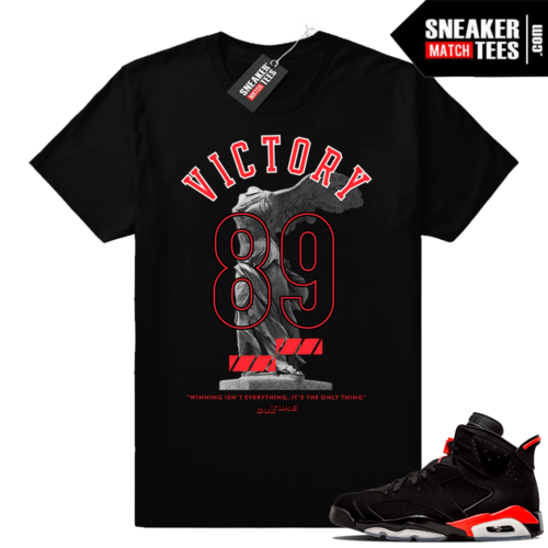 Jordan 6s infrared shirts match