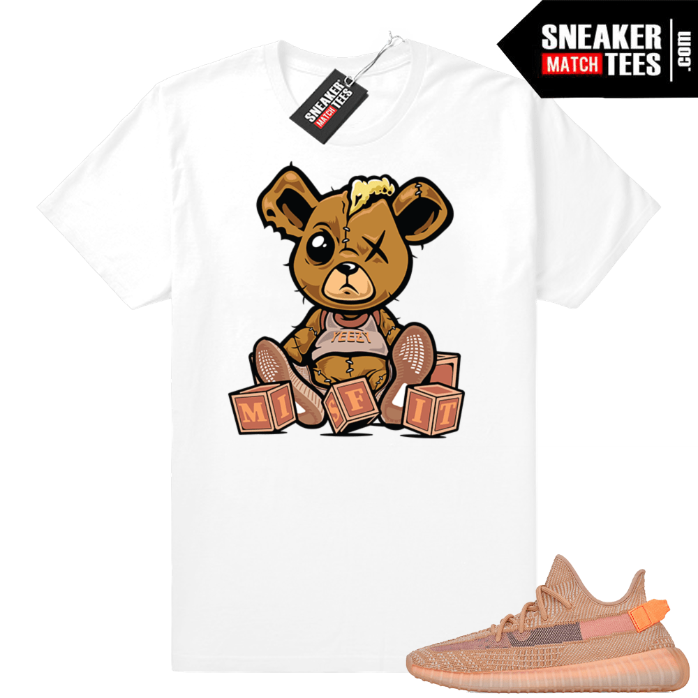 Match Clay Yeezys sneakers