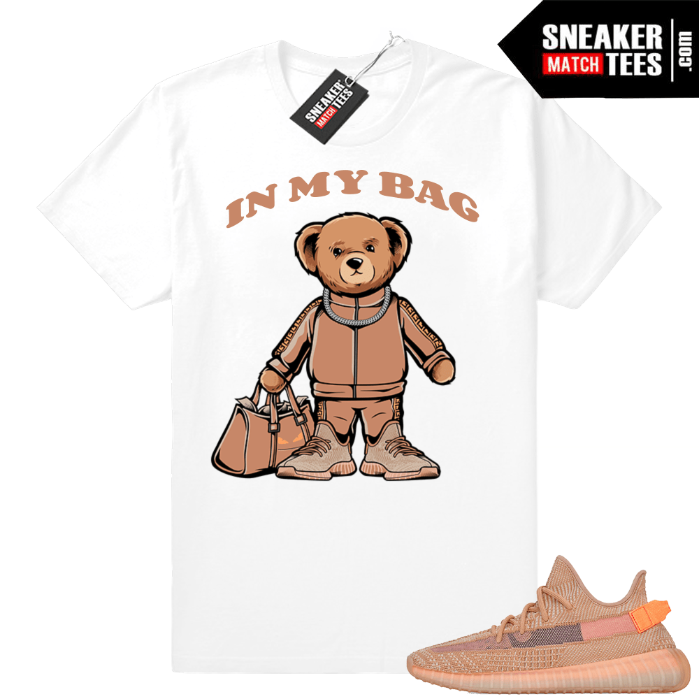 Match Yeezy Clay Sneaker tees