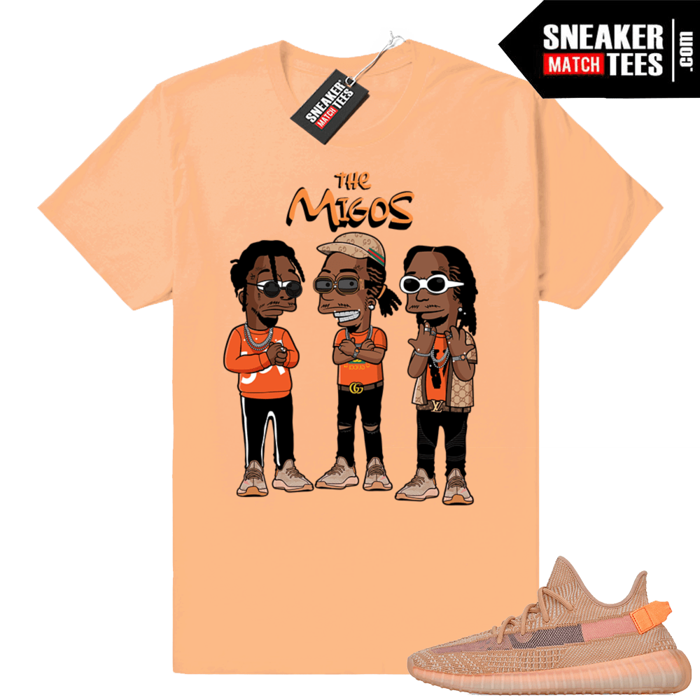 Shirts Yeezy Clay sneakers