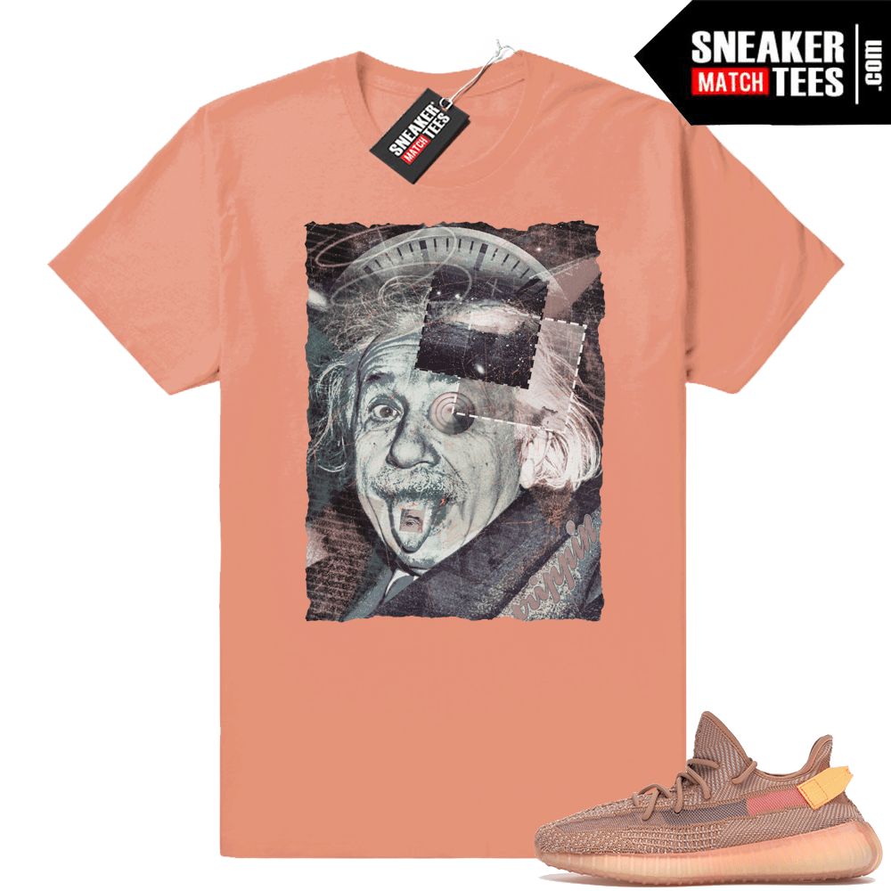 Shirts match Clay 350 Yeezy boost