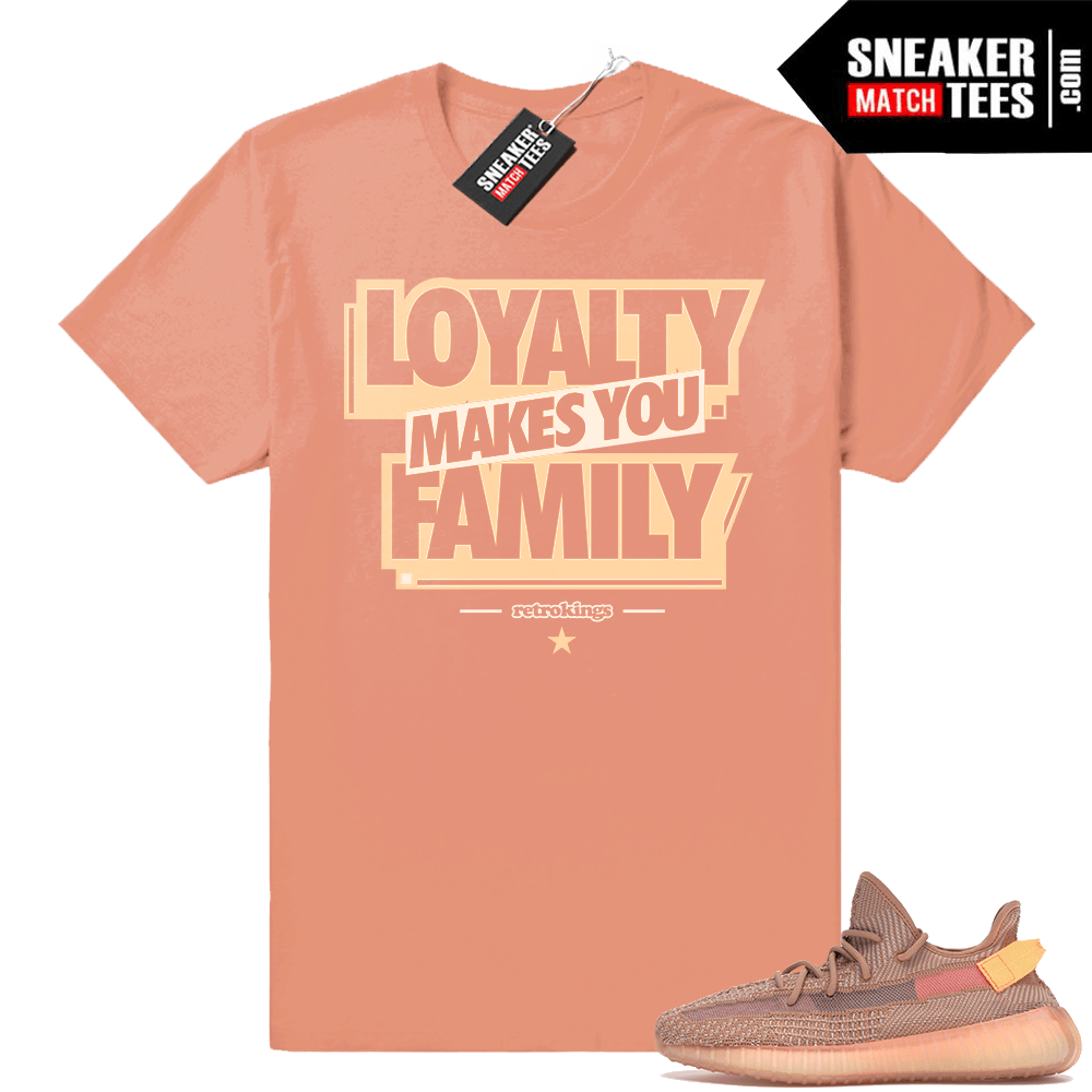 Shirts match Yeezy boost 350 V2 Clay