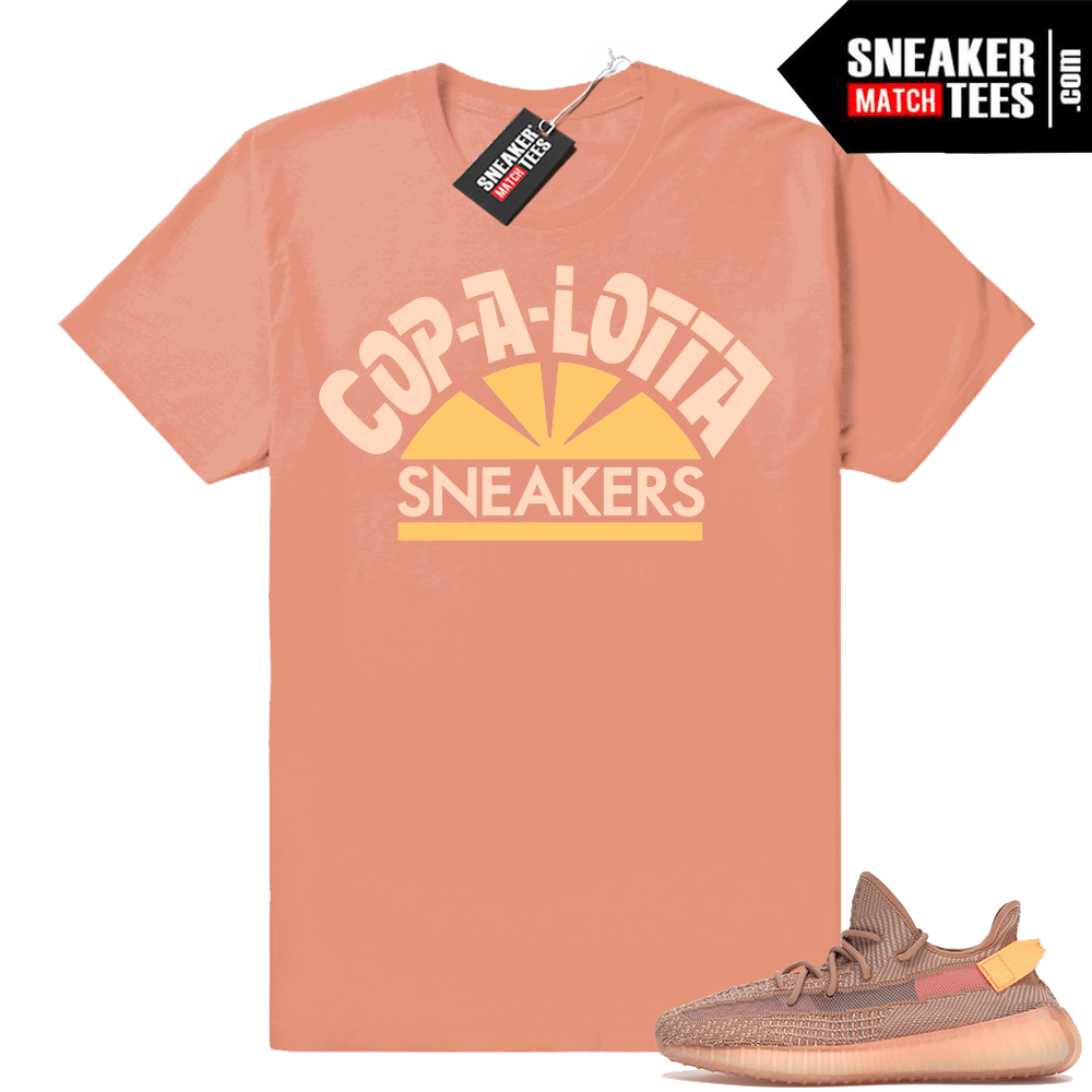 Shirts matching Yeezy Boost 350 Clay