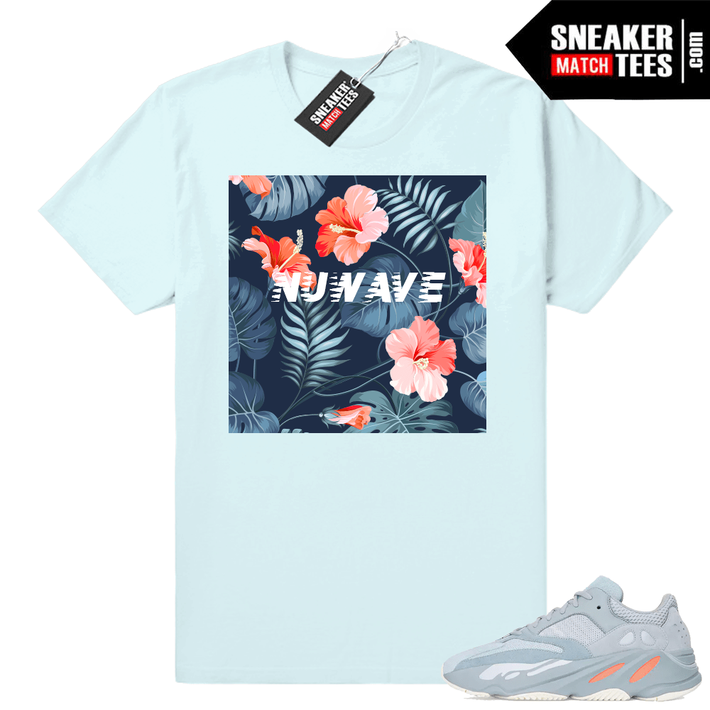 Shirts matching Yeezy boost 700 inertia shoes