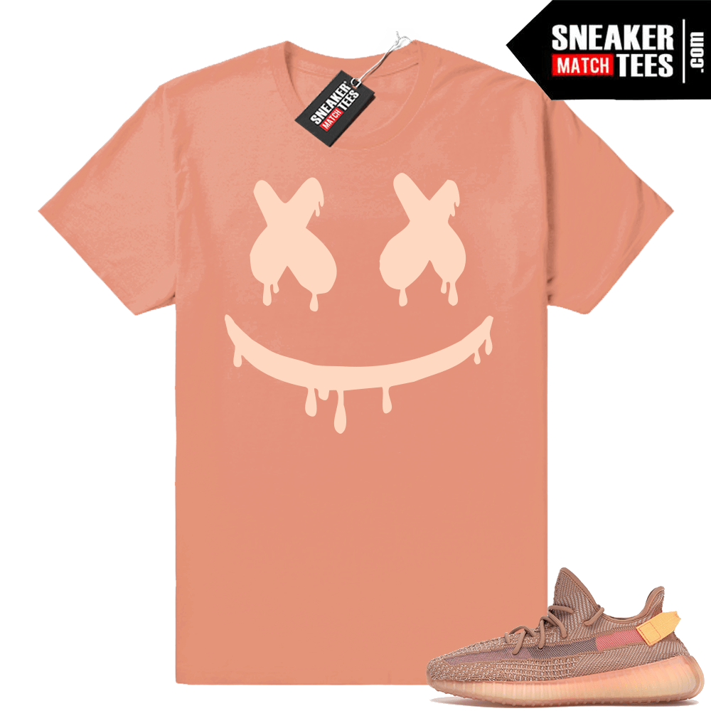 Smiley Drip Clay Yeezy 350 sneaker match