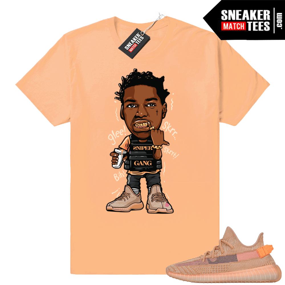 dc293c2c7f52e Sneaker t-shirt Clay Yeezys