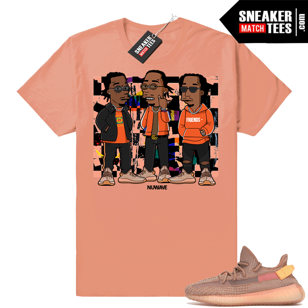 Yeezy Boost 350 Clay Sneaker shirt outfits