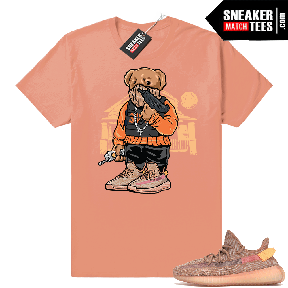 Yeezy Boost 350 Clay Trap Bear t-shirt