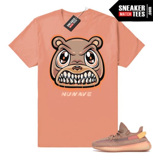 Yeezy Boost 350 Clay shirt