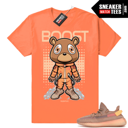 Yeezy Boost 350 matching Clay shirt