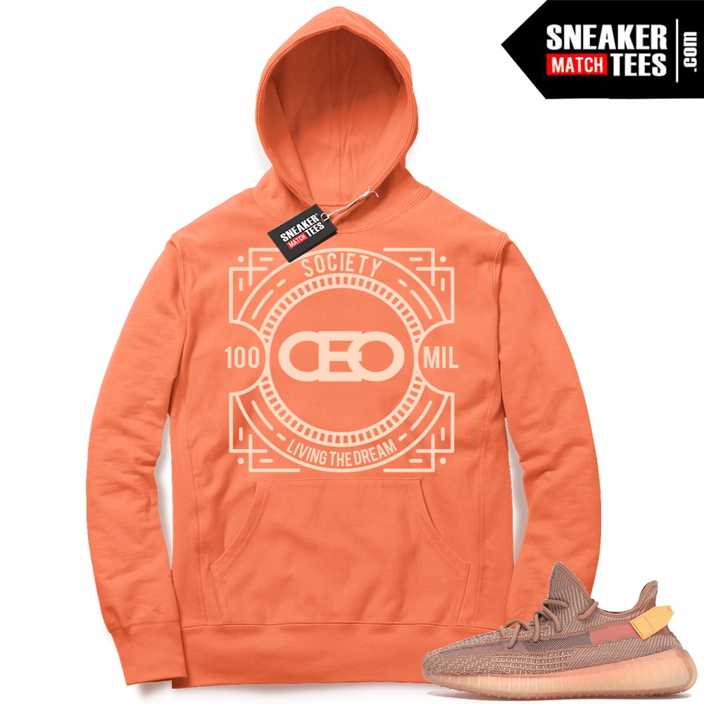 Yeezy Clay 350 CEO Hoodie
