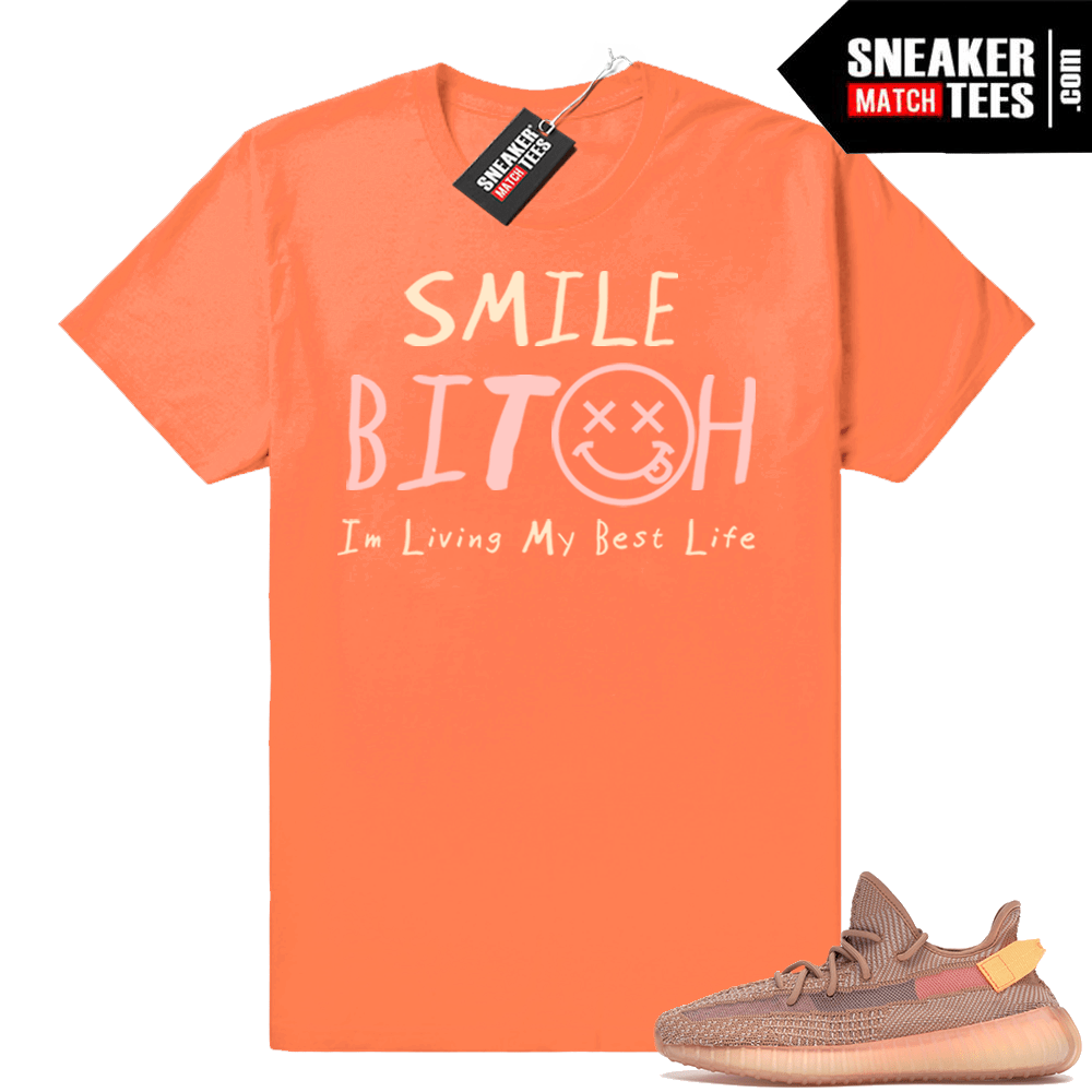 Yeezy Clay 350 Graphic shirts