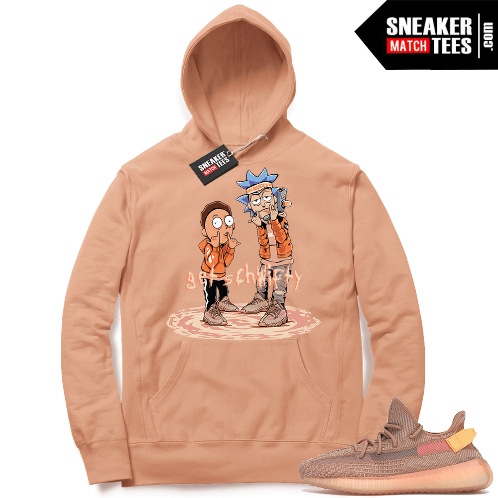 0773fc5a5d7 Yeezy Clay 350 Sneaker Match Hoodie | Yeezy Match Clothing Shop