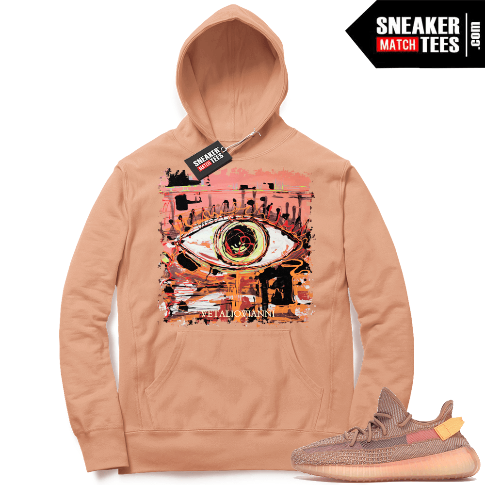 Yeezy Clay 350 hoodie match