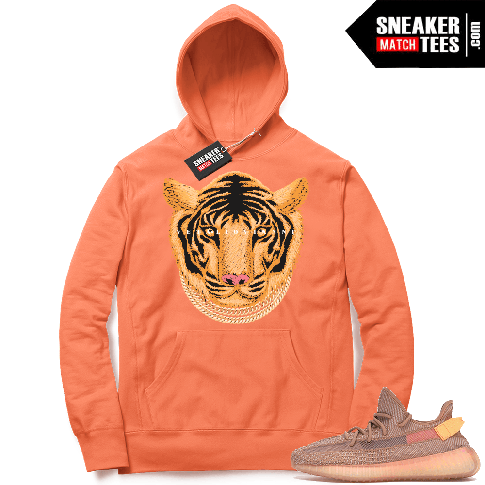 Yeezy Clay Hoodies Match Sneakers