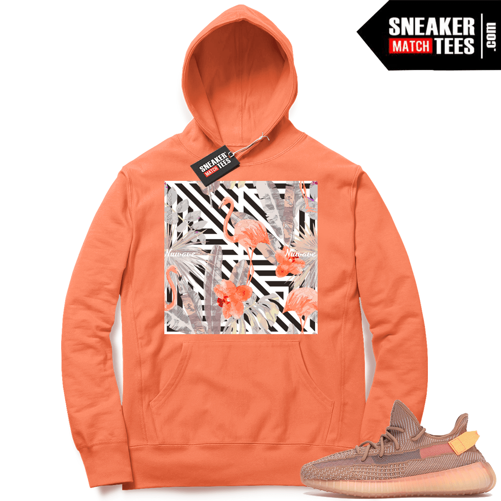 Yeezy Clay matching hoodie