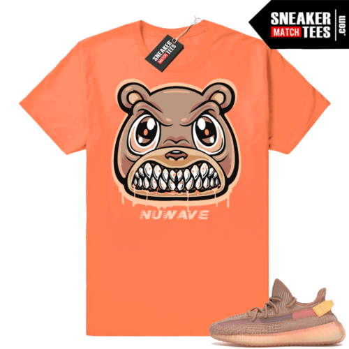 Yeezy boost 350 Clay sneaker shirt