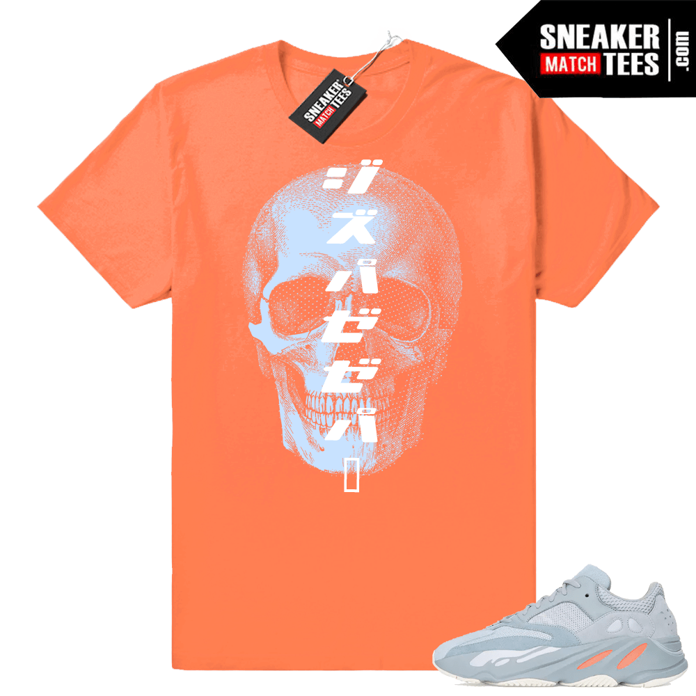 Yeezy boost 700 tees match sneakers