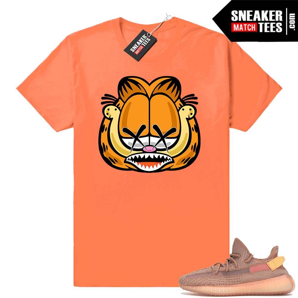 Yeezy match sneaker tees Clay 350