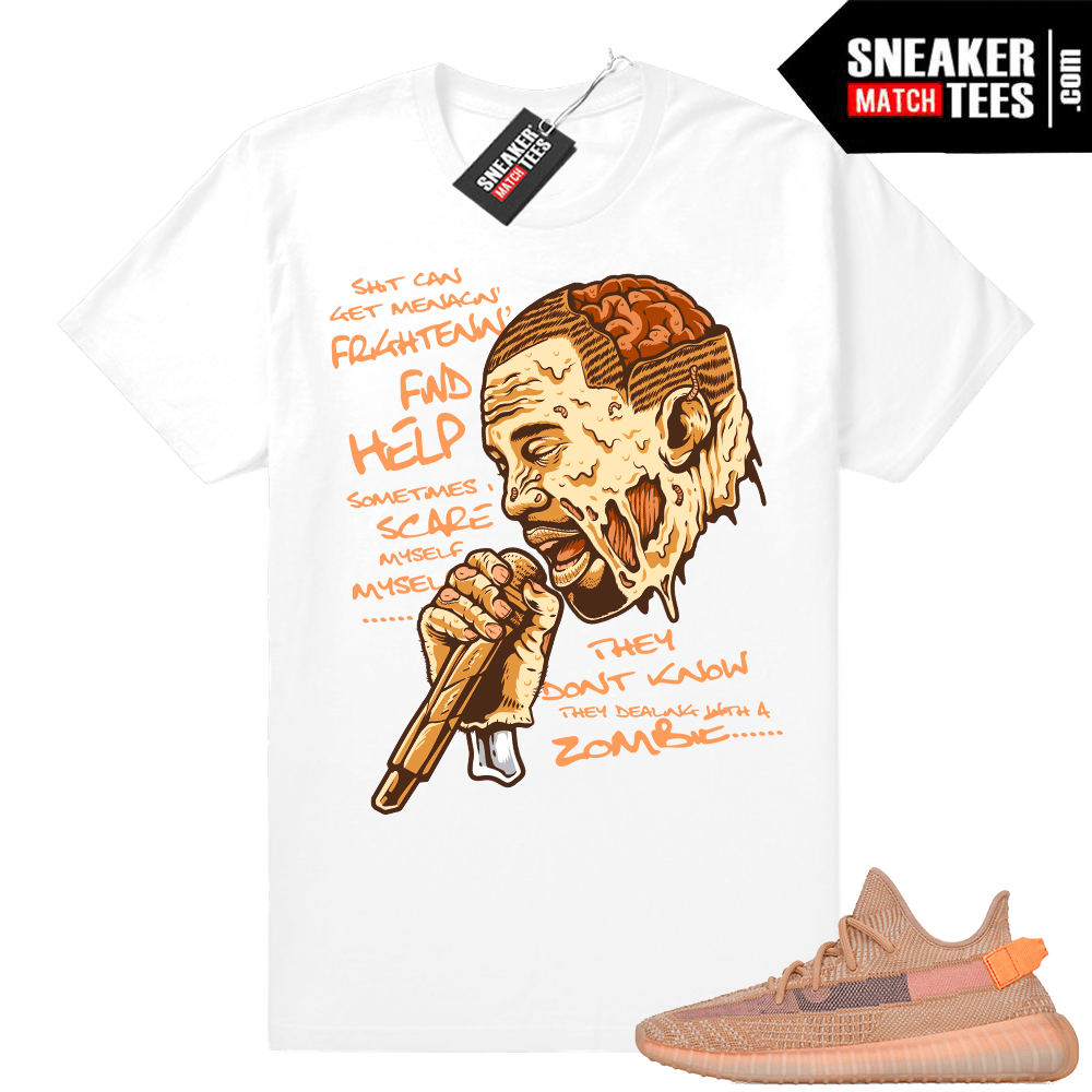 Yeezy shirt Clay sneakers