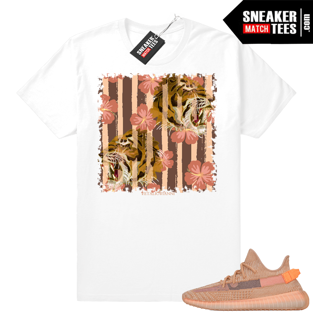 Yeezy sneaker shirts Clay