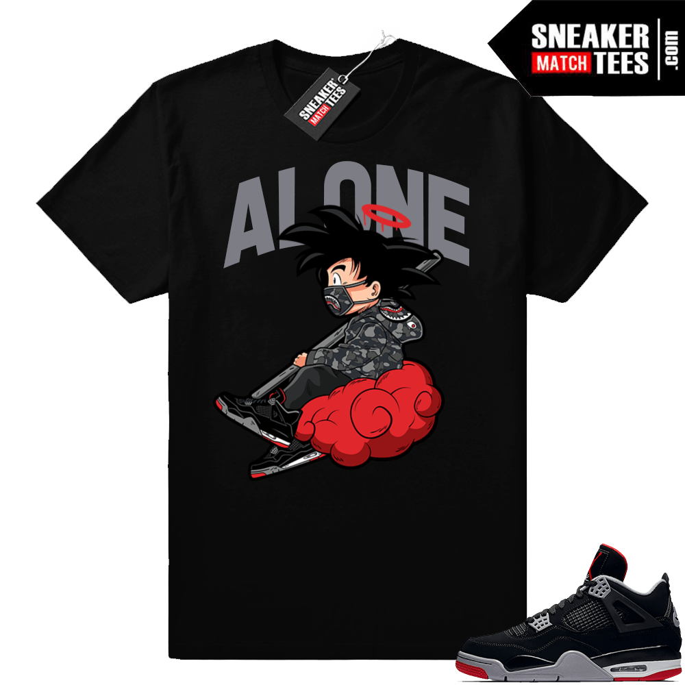 11577bb3f897 Jordan Bred 4s match shirt