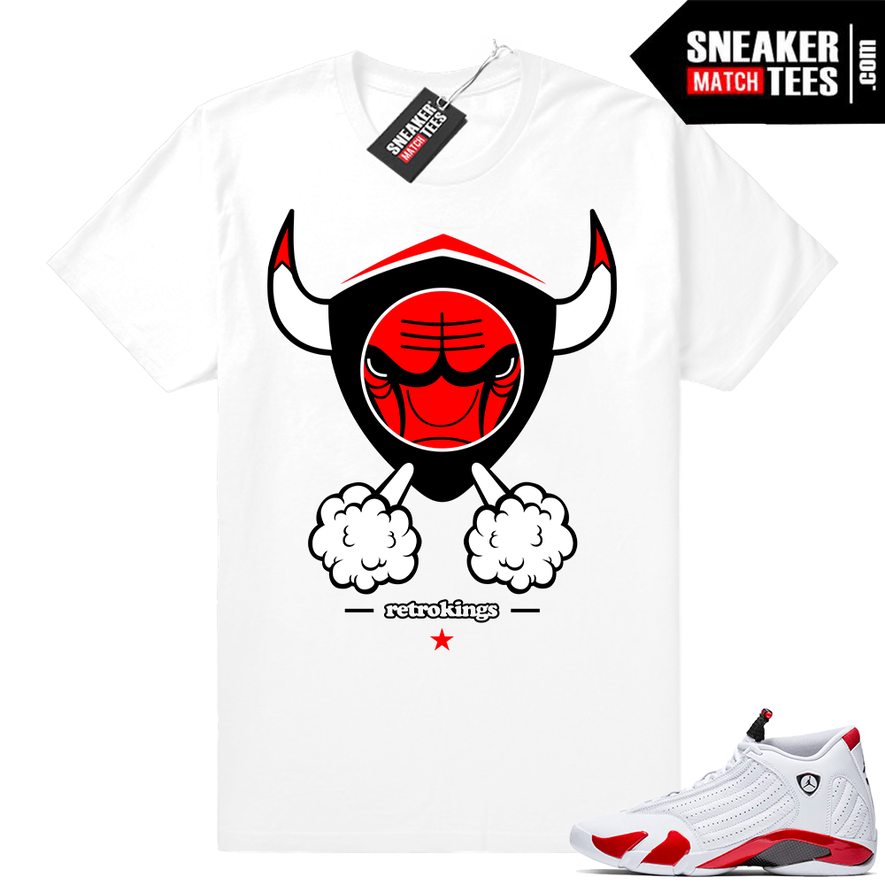 factory price 04989 8f7b9 Candy Cane 14s | Angry Bull XIV | White Shirt